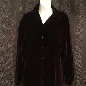 Ladies Long Sleeve Rayon Blouse